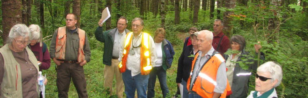 Members love to share their forests and knowledge with others; come join us today