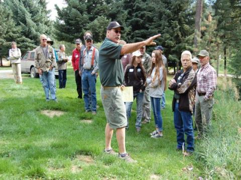 2017 Annual Meeting -- Al Runte' explains his Defensible Space