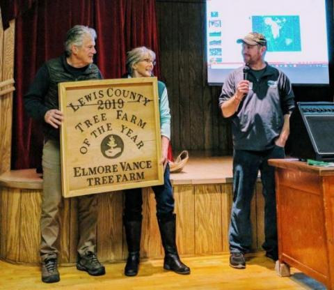 The Vance Elmore Tree Farm, 2019 Lewis County Tree Farmer of the Year