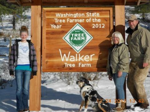 Washington State Tree Farmer of the Year 2012