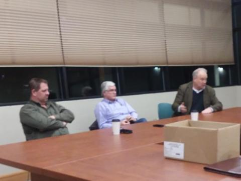 Rep. Brian Blake, Sen. Dean Takko and Rep. Jim Walsh, Pacific Chapter's Meeting with our District 19 State Legislators, Raymond, 12/18/19