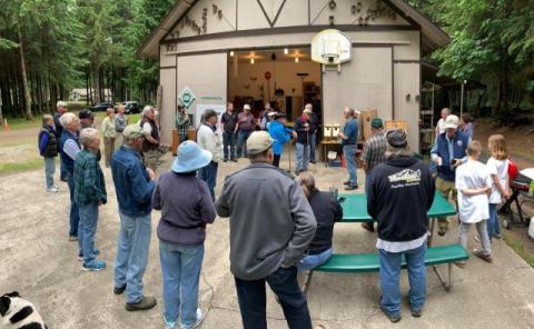 Miller Tree Farm annual summer picnic June 2019