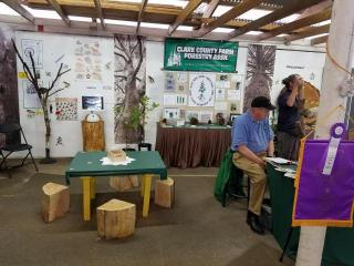 Clark Chapter's WFFA Display at 2016 Clark County Fair