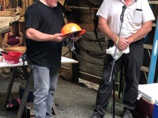 Two people with hardhat