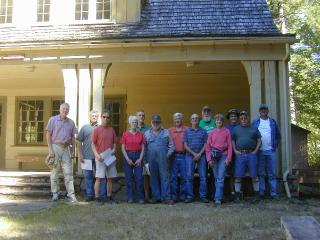 Mt. Adams Chapter at historic Wind River Training Center 2014