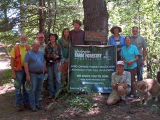 Group Shot from summer meeting, 2019 at Heartland Partnership Property