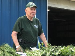 Herm Nelson talks about special forest products
