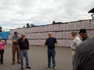 Tour of Pacific Fiber Pellet Plant near Shelton
