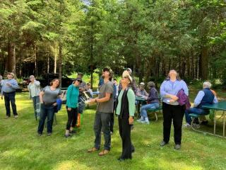 Miller Tree Farm annual summer picnic June 2019.  Drone demonstration provided by Jaal Mann of FPS, Inc. / O'Neill Pine.
