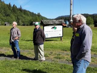 A fond farewell were bid to Phil Cloward, WCFFA member & Board member, who was instrumental in helping to put together Black Mountain Forestry Center.  Phil passed away recently and the Center is being moved to Skagit County.