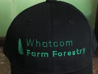 Whatcom County Farm Forestry Hats for sale - $15 for Chapter members.  See article to right for details.